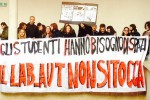 Palermo, protesta in difesa della biblioteca al Rettorato