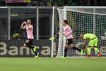 Palermo-Crotone, Nestorvski esulta dopo il goal - Ansa