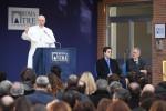 Al Papa prodotti delle terre di S. Giuseppe Jato tolte alla mafia