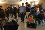 Disabili, occupata la presidenza della Regione con i fratelli Pellegrino e Pif: aspettiamo Crocetta