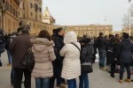 Stabilizzazione, i precari Asu tornano in piazza: le immagini della protesta