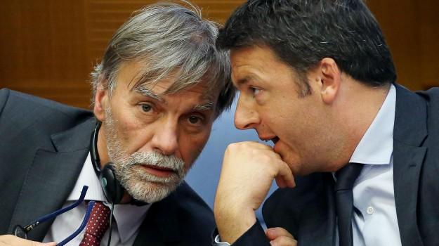 fuorionda delrio, scissione pd, Graziano Delrio, Matteo Renzi, Sicilia, Politica