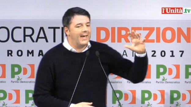 direzione pd, Massimo D'Alema, Matteo Renzi, Pierluigi Bersani, Sicilia, Politica