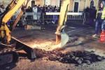 Catania, una fuga non gas non ferma la festa di Sant'Agata
