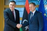 Il presidente del Consiglio Ue: pronti a chiudere la rotta Libia-Italia