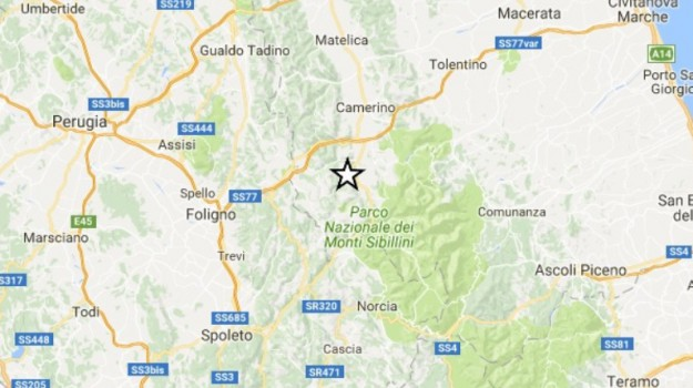 Macerata, perugia, sisma centro italia, terremoto, terremoto centro italia, Sicilia, Cronaca