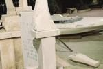 Trapani, distrutta statua della Madonna