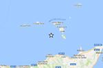 Tre scosse al largo delle Eolie, la più forte di magnitudo 4: nessun danno