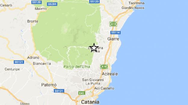 etna, terremoto, Zafferana Etnea, Catania, Cronaca