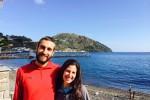 Girano il mondo in bicicletta, una coppia argentina sbarca a Lipari