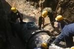 Perdita nelle rete idrica a Palermo, operai al lavoro: disagi in centro città