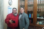 Carmelo Casuccio con Anselmo Zarbo
