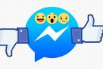 """Facebook aggiorna Messenger, arrivano reazioni e menzioni: in chat anche """"non mi piace"""""""