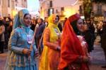 Mandorlo in Fiore, le fiaccole per le strade di Agrigento: i gruppi invadono via Atenea