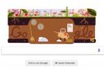 Primo giorno di primavera, il doodle di Google