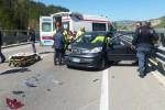 Incidente sul raccordo per Caltanissetta, quattro i feriti