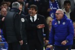 Chelsea-Manchester ad alta tensione, lite Mourinho-Conte