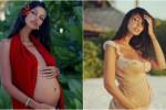 Madalina Ghenea, futura mamma in copertina: le foto del pancione