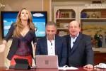 """Scintille in tv fra Magalli e Adriana Volpe: """"Sei proprio una rompi..."""""""