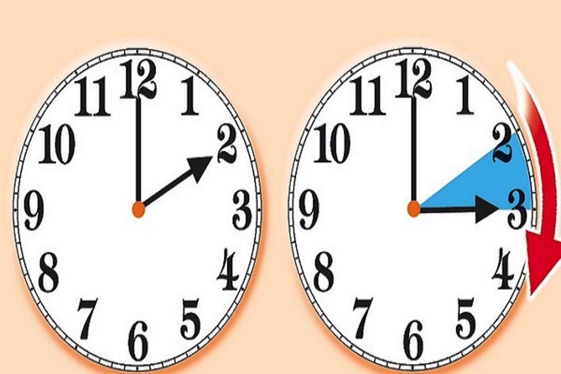 Lancette avanti giornate pi lunghe torna l 39 ora legale for Quando entra in vigore l ora legale