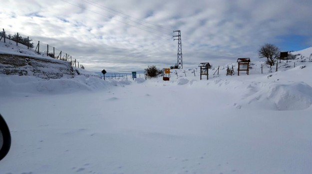 Parco divertimenti sulla neve