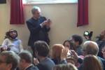 I fratelli Pellegrini presenti alla consegna del Premio Mario Francese