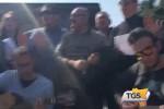 Servirail, a Messina la protesta degli operai a suon di musica