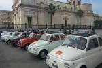 """Raduno delle 500, le """"nonnine"""" della Fiat a Giarre e Linguaglossa"""