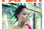 Rihanna in posa con i capelli verdi: così rompo tutte le regole