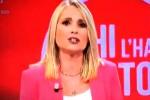 """La Sciarelli s'infuria contro un falso testimone: """"Ti denuncio"""""""