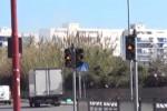Semafori del tram non funzionanti, pericoli in via Laudicina a Palermo