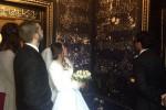 Sposi visitano la Camera delle Meraviglie nel giorno delle nozze: a Palermo si avvera il sogno di Adriana e Salvo