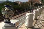 Vasi distrutti dai vandali ad Agrigento, nuovo raid in viale della Vittoria