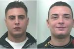 I due giovani arrestati