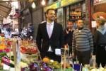 Baccaglini tra i palermitani al mercato della Vucciria: siete incredibili - Video