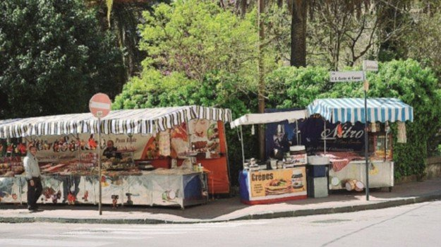 bancarelle, caltanissetta, processioni, Caltanissetta, Cronaca