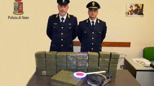 carico di droga, cocaina, hashish, Trapani-Palermo, Trapani, Cronaca
