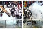 Steward ferito da petardo per Catania-Foggia, 4 ultras denunciati
