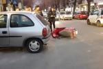 Palermo, schianto in corso Calatafimi: centauro in gravi condizioni - Video