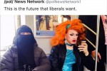 Drag queen e musulmana in metro, lo scatto è virale: questa è libertà