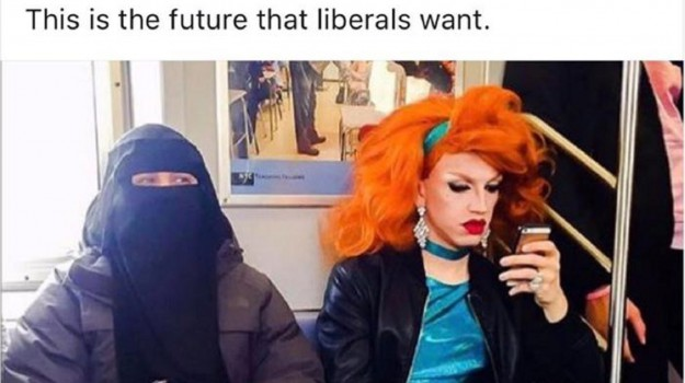 drag queen e musulmana, Donald Trump, Sicilia, Mondo