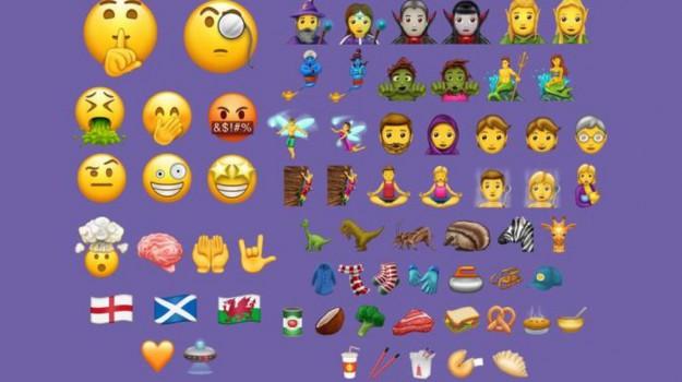 emoji, emoticon, smartphone, Sicilia, Società