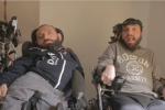 """Blitz dei fratelli Pellegrino al convegno Pd sui disabili: """"Siamo ancora senza assistenza"""""""