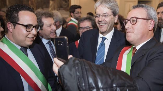 Enzo Bianco, Paolo Gentiloni, Catania, Politica