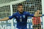 Ciro Immobile festeggia il 2-0