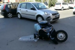 Scontro auto-moto in via Montepellegrino, traffico in tilt - Video