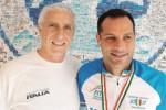 Trapani, l'ipovedente Romeo campione italiano di Paraduathlon