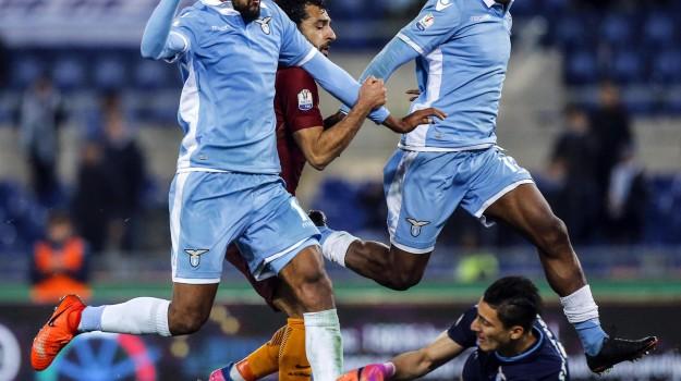 Calcio, coppa italia, derby roma, Lazio Roma, semifinale, SERIE A, Sicilia, Sport