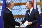 Brexit, consegnata lettera d'addio all'Ue. May: non torneremo indietro
