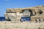 """Malta, è crollata la """"Finestra azzurra"""": l'arco fu lo sfondo del Trono di spade - Foto"""